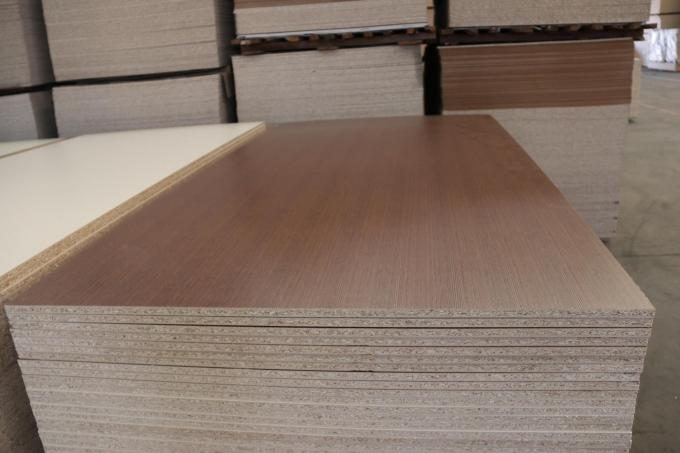 Double Sides Pre Laminated Particle Board For Construction Building Furniture Decor