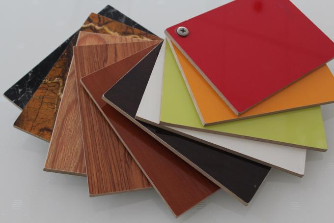 E1 Grade Plain Laminated MDF Board For Carving And Counter Surface Sanding