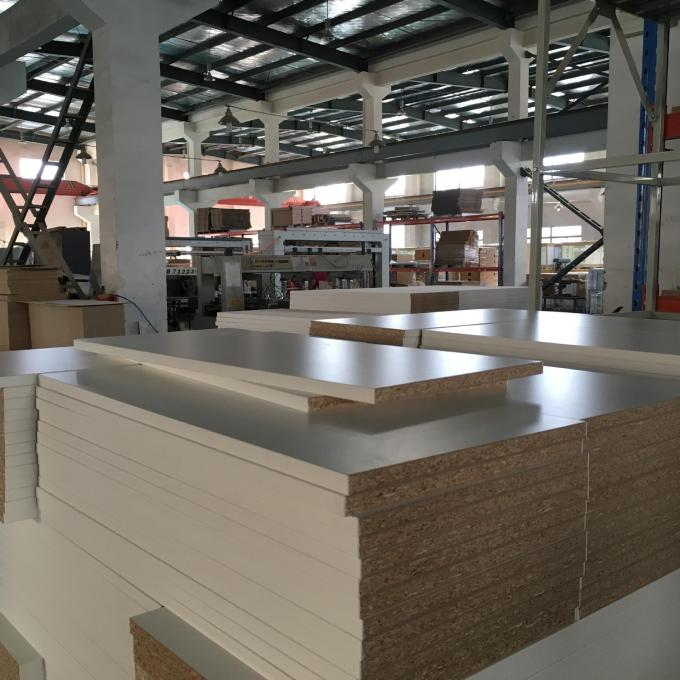 Eco Friendly Furniture Grade Particle Board , Light Weight Pressed Particle Board