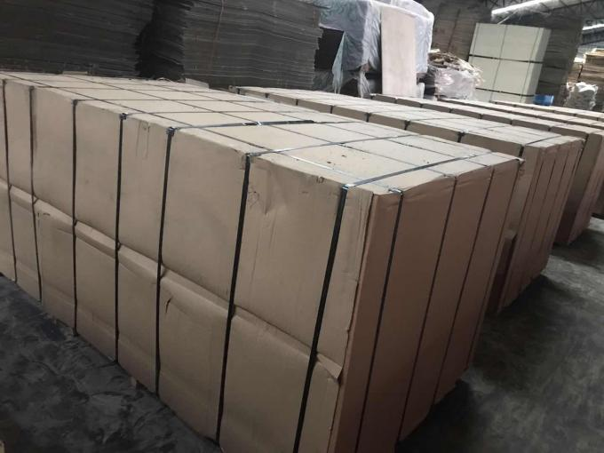 Concrete Formwork Film Faced Marine Plywood , WBP Glue Film Coated Plywood Panel