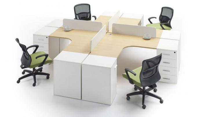 Modern Appearance Particle Board Office Furniture For Work Office Decor Office Table