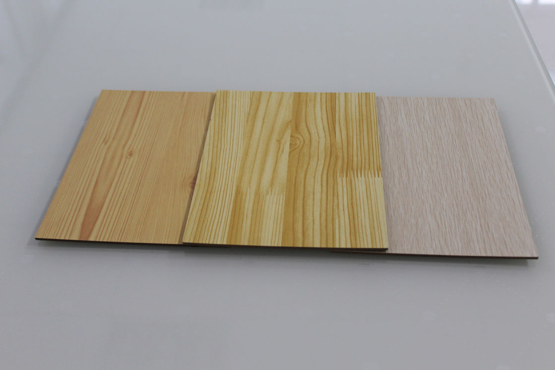 Custom Made Pine Veneered MDF Sheets / Office Table Water Resistant MDF Board
