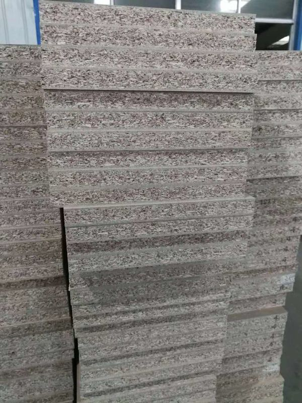 Finished Surface Waterproof Particle Board , Both Side Pressed Particle Board Veneer Finish