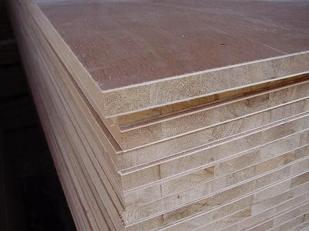 Large Pine Core Wood Laminated Block Board For Making Long Book Shelves