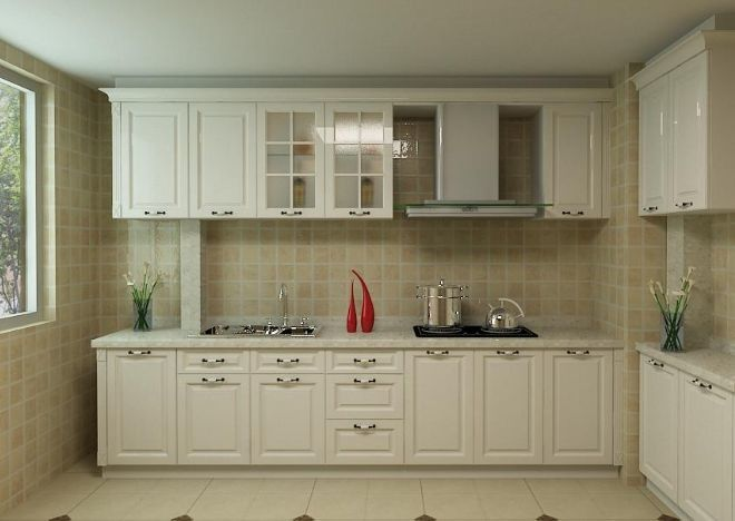 Customized Plywood Kitchen Cabinets Pure Wooden Wardrobe Designs