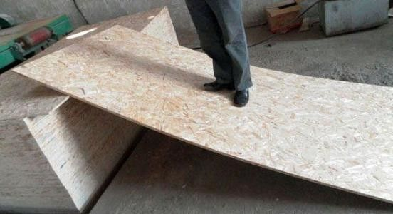 Custom Furniture Grade OSB Oriented Strand Board Low Formaldehyde Emission