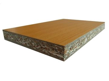 China Double Sides Pre Laminated Particle Board For Construction Building Furniture Decor factory