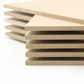 China Furniture 25mm MDF Sheet 1200x2400mm , Eco Friendly Melamine Faced MDF Board factory