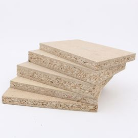 China First Class Hardwood Laminated Particle Board Sheets For Furniture Raw Chipboard factory