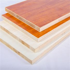 Melamine Faced 18mm Laminated Block Board For Furniture And Decoration