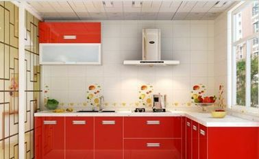 Modern Desigh Frameless Kitchen Cabinets / Fashion Flat Pack Kitchen Cabinets