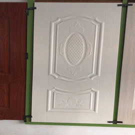China White Faced Premium Door Skin With Many Styles For Choice Friendly Environmental factory