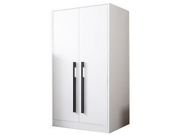 China Environmental Protection Laminated Particle Board Cabinets Single Door Wardrobe factory